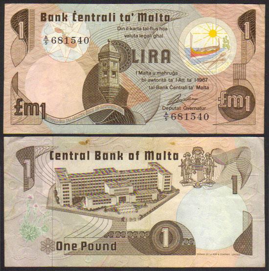 Origin Dollar sign 1979-malta-lira