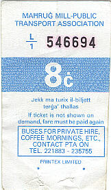 bus ticket 10
