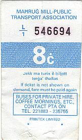 bus ticket 10