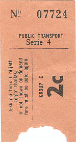 bus ticket 9a