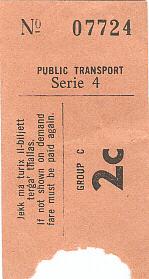 bus ticket 9a