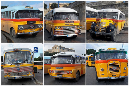 bus yellow