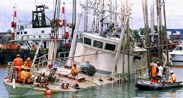Jacques-Cousteau-Calypso-Ship Jan25 1995