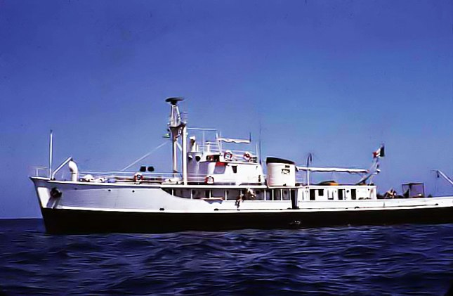 Jacques-Cousteau-Calypso-Ship
