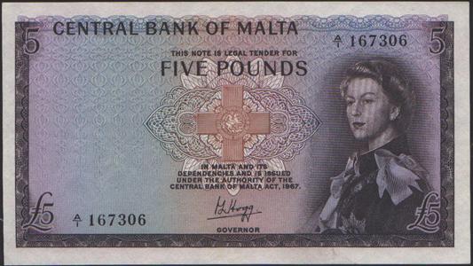 Malta1967_5Pounds