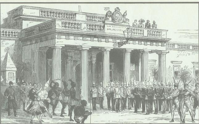 Main Guard Carnival 1882