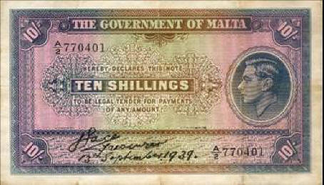 Brief history of the Maltese Pound | Maltese History & Heritage
