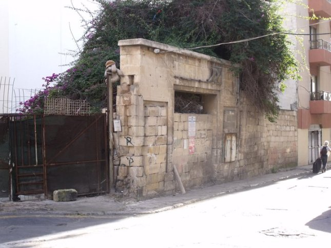 Drive-in Cinema in Bouverie street in Gzira