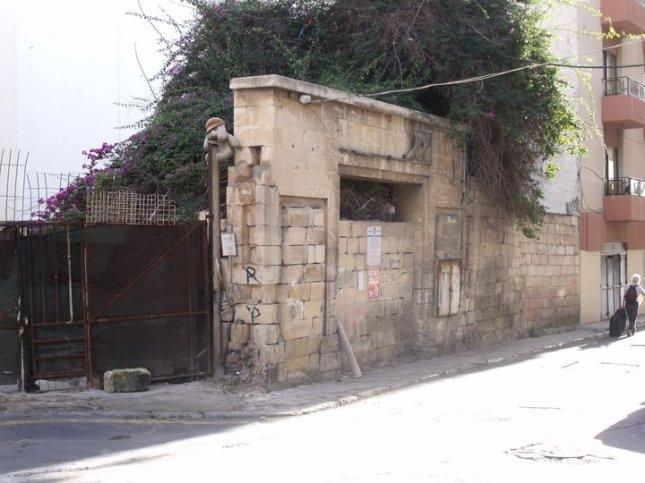 Drive-in Cinema in Bouverie street in Gzira