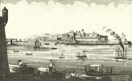 Fort Ricasoli 1834