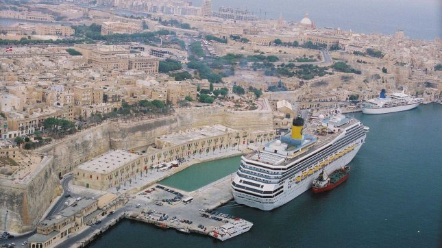 Valleta Cruise Ship Terminal, port overview