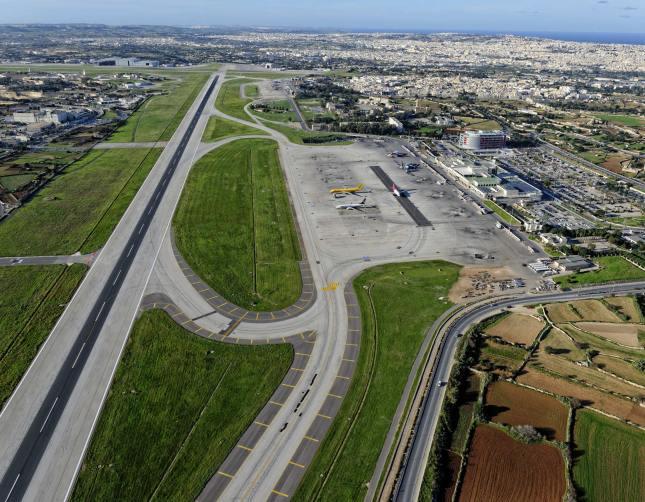 Luqa Airfield 2014