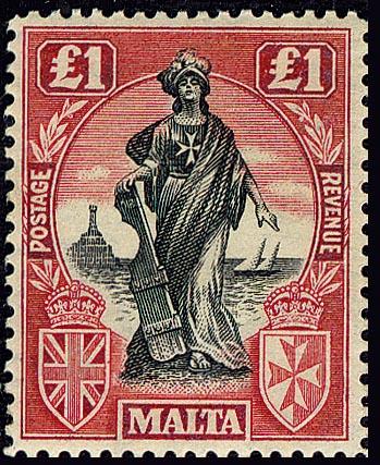 Malta_1922_One_Pound