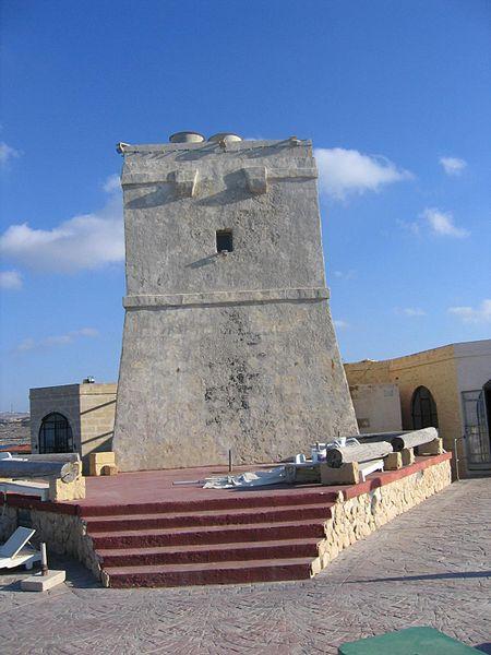 Qawra_Tower