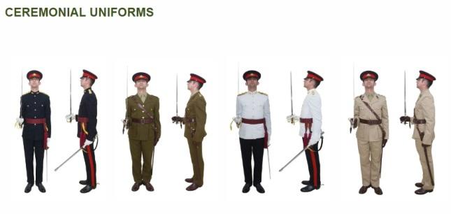 uniforms cer