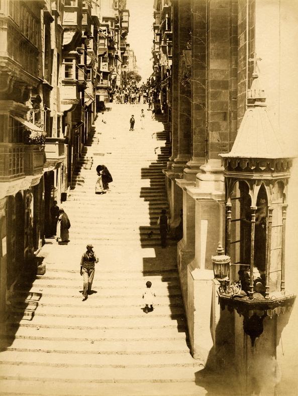 St. John Street Valletta Malta 1881