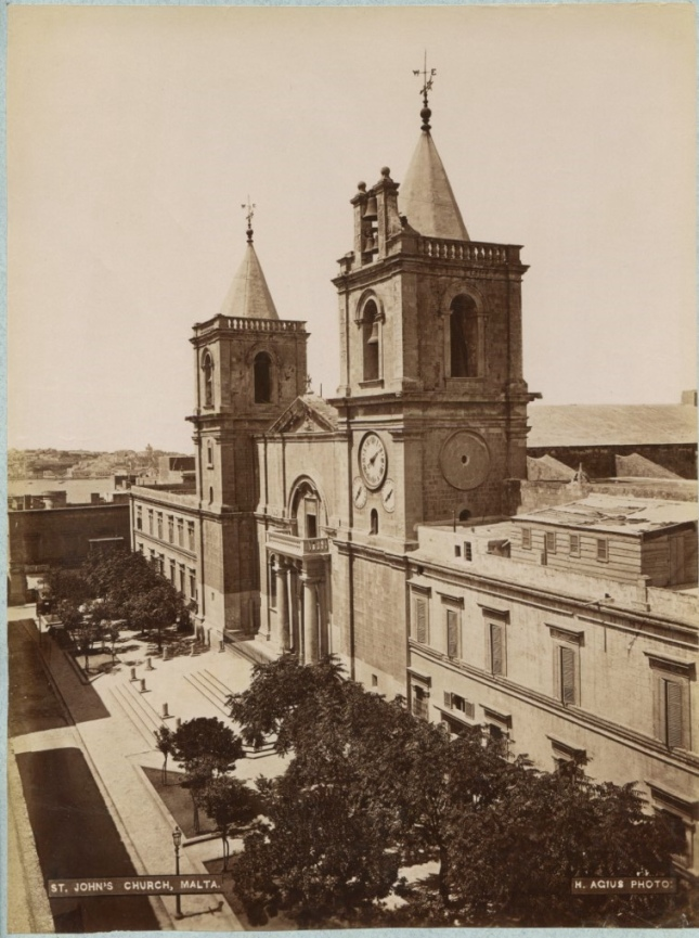 St. John's co- cathedral Valletta Malta 1870s